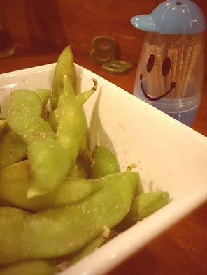 ワイン塩の枝豆